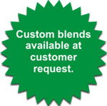 custom blend available